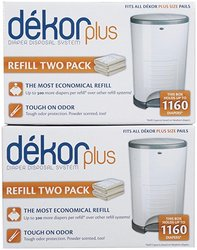 Diaper Dekor 4-Pack Plus Refill Disposable System