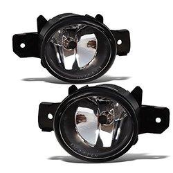 MaxMate 2-Pack Premium Fog Lights - Black