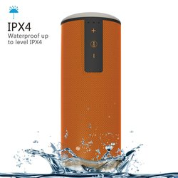 Trendwoo Outdoor Waterproof Bluetooth V4.0 Portable Speaker - Orange