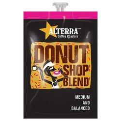 Alterra Donut Shop Blend Coffe - 100ct Case