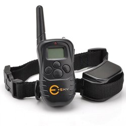 Esky Rechargable LCD Remote Control Dog Training Shock Collar with - 100