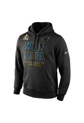 NFL Carolina Panthers Women's Super Bowl Bound Hooded Sweatshirt - Black - XL