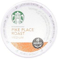 Starbucks Pike Place Roast Medium Keurig K-cups - 54 Count