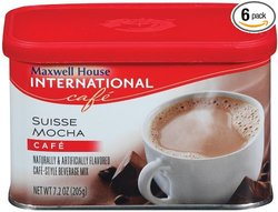 Maxwell House International Coffee - 7.2Oz - Pack of 6