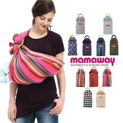Mamaway Baby Ring Sling - Rainbow Crayon