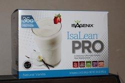 Isagenix IsaLean Pro Natural Vanilla Shakes - 14 Packets - 2.4Oz
