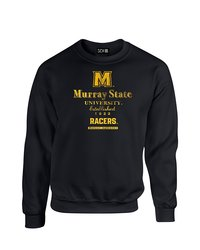 NCAA Murray State Racers Stacked Vintage Sweatshirt - Black -Size: X-Large