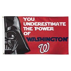 WinCraft MLB Washington Nationals Star Wars Darth Vader Deluxe Flag