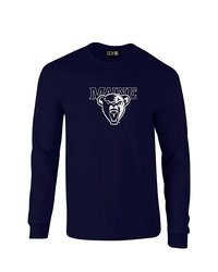 Sdi NCAA Maine Black Bears Classic Long Sleeve T-Shirt - Navy - Size: L