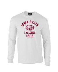 Sdi NCAA Iowa State Cyclones Mascot Sleeve T-Shirt - White - Size: XX-L