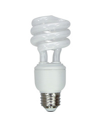 GE 60-Watt CFL Soft White Light Bulb - 2-Pack (FLE15HT3XXLL/2BX)