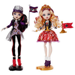 Ever After High School Spirit Apple White & Raven Queen Doll (2-Pack)