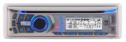 Dual Dynamics 60-Watt X 4 Marine Car CD Receiver With Bluetooth (AMB600W)