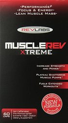 Rev Labs MuscleRev Xtreme Capsules - 60 Count
