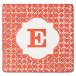 Threshold Pillow Cover Monogram Embroidered Letter E - 18 x 18