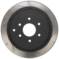 DBA 4000 Series 6x6 Wiper-Slot Rear Vented Right-Hand Disc Brake Rotor