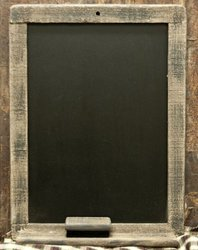 Business & School Supply Wood Chalkboard for Office/School - (32616)