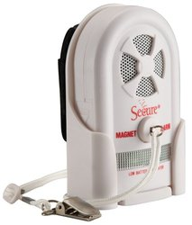 Secure Patient Monitoring Magnet Pull Cord Alarm - Batteries Included