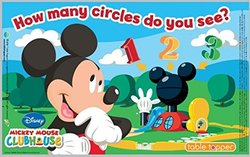 Neat Solutions Disney Mickey Mouse Biodegradable Table Toppers - 18 Count