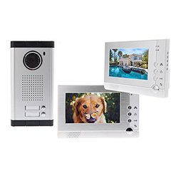 "Docooler 7"" LCD Video Door Phone Doorbell 1 to 2 Intercom System (H10694)"