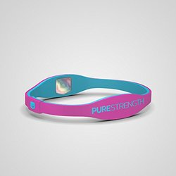 Purestrength Ion Sports Band Edge - Pink/blue - Size: M/l