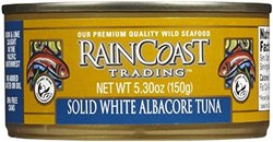 Raincoast Trading Solid White Albacore Tuna 12 Pack - White - 5.65 Oz