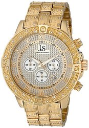 Joshua & Sons Chronograph Men's Watch: Model JX121YG