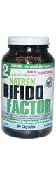 Natren Bifido Factor Dairy Free, Capsules, 90-count