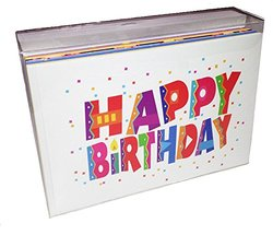 Stonehouse Birthday Card Assorted Pack - Set of 36 Cards & Envelopes
