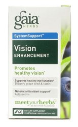 Gaia Herbs Vision Enhancement Liquid Phyto Capsules- 60 Count