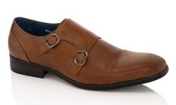 Adolfo Couture Milan Men's Dress Shoes - Milan-4/tan - Size: 10.5
