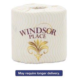 Atlas Paper Mills Windsor Place Premium Bathroom Tissue, 2-Ply, 4 1/2 x 4, 500/Roll,80 Roll/Crtn