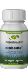 Native Remedies MindSoothe Herbal Supplement - 60 Vegetarian Capsules