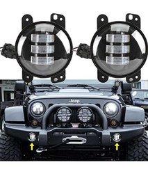 """Sunpie 4"""" Led Fog Lights for Jeep Wrangler"""