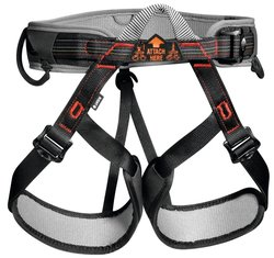 Petzl Aspir Climbing Harness - Black/Red - One Size