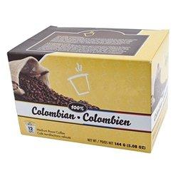 Colombian Blend 72 Single Serve Keurig Compatible Coffee Capsule Pack of 6
