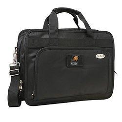 """Denco NBA Phoenix Suns Expandable Laptop Briefcase - Black - Size: 16"""""""