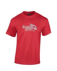 SDI NCAA Men's Illinois State Redbird Mascot Foil T-Shirt - Red - Size: XL