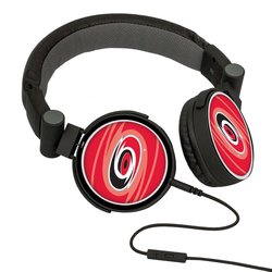 NHL Carolina Hurricanes Oversized Logo Headphones