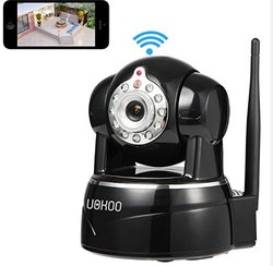 Uokoo Wifi Camera 720P WiFi Surveillance Camera with in Built Microphone