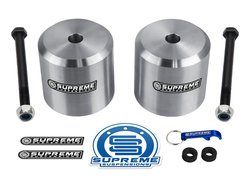 Supreme Suspensions Leveling Kit Aircraft Coil Spring Spacers - Size: 2.5""