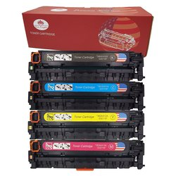 Toner Kingdom Toner Cartridge - Black, Cyan, Yellow, Magenta