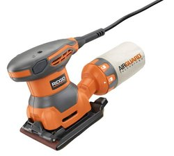 Ridgid 2.4-Amp 1/4 Sheet Sander with AIRGUARD Technology (R25011)