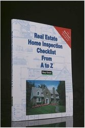 Real Estate Home Inspection Checklist from A to Z - Paperback - June 2004