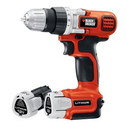 12-Volt Lithium-Ion 3/8 in. Cordless Drill/Driver w/ 2-Battery (LDX112C-2)