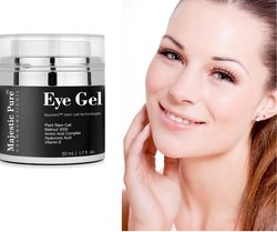 Anti Aging & Skin Firming Eye Gel for Dark Circle Eye Puffiness -1.7 fl oz