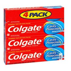 Colget Mint Taste Toothpaste - Pack of 4/8.2 oz ea