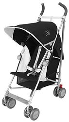 Maclaren WM1Y110292 Globetrotter, Black/White
