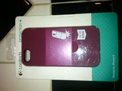 Logitech Protection and Case for iPhone 5/5s - Retail Packaging - Scarlett Plum