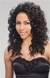 Freetress Equal Lace Front Baby Hairline Wig - Black